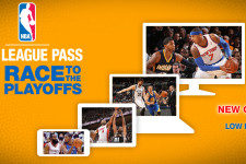 NBA LEAGUE PASS RACE TO PLAYOFFS PACKAGE NOW AVAILABLE—LIMITED-TIME OFFER