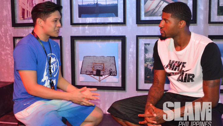 Nobody more trill – SLAM PH talks to Paul George about Rise and his own rise