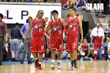 Alaska makes a last minute jump to the sixth spot after downing Brgy. Ginebra