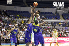 Jarrid Famous stood out amidst GlobalPort-Talk 'N Text backcourt battle