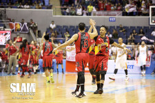 GALLERY: San Miguel Beer avoids upset, barges into semis with fourth quarter storm versus Meralco
