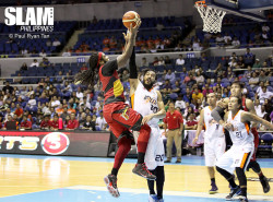 Like a dam breaking, the San Miguel Beermen were too much for the Meralco Bolts