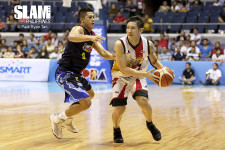 San Miguel Beermen climb back from 24-point deficit to steal game one versus Rain or Shine