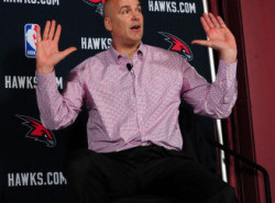 Hawks GM Ferry not interested in getting the 8th spot in the playoffs