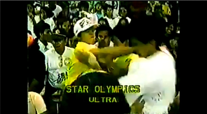 THROWBACK THURSDAY VIDEO: Robin Padilla, Richard Gomez Fight at Star Olympics