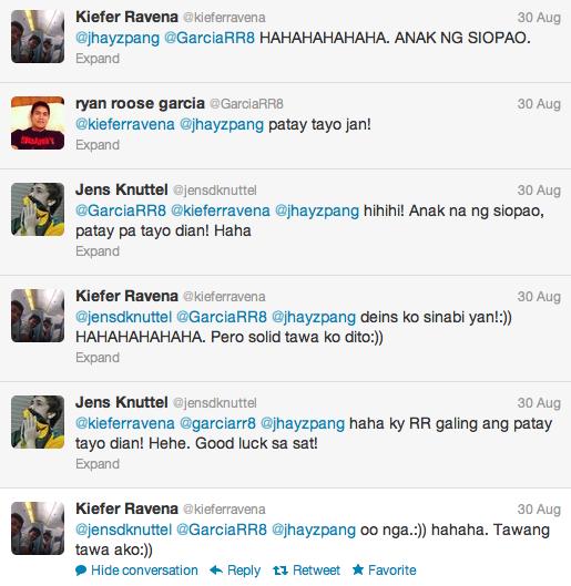 Kiefer Ravena and R.R. Garcia get memed-up on Terrence Romeo's alleged
