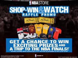 NBA Store PHL gives you the chance to watch the NBA Finals live in the US