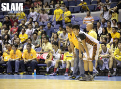 UST opens the second round with win over Adamson; halts three-game skid