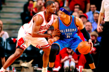 VIDEO: Westbrook scores 43, but Moore hits dagger triple as Bulls rally versus Thunder