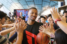 "Damian Lillard tips off adidas ""Take on Summer"" tour"