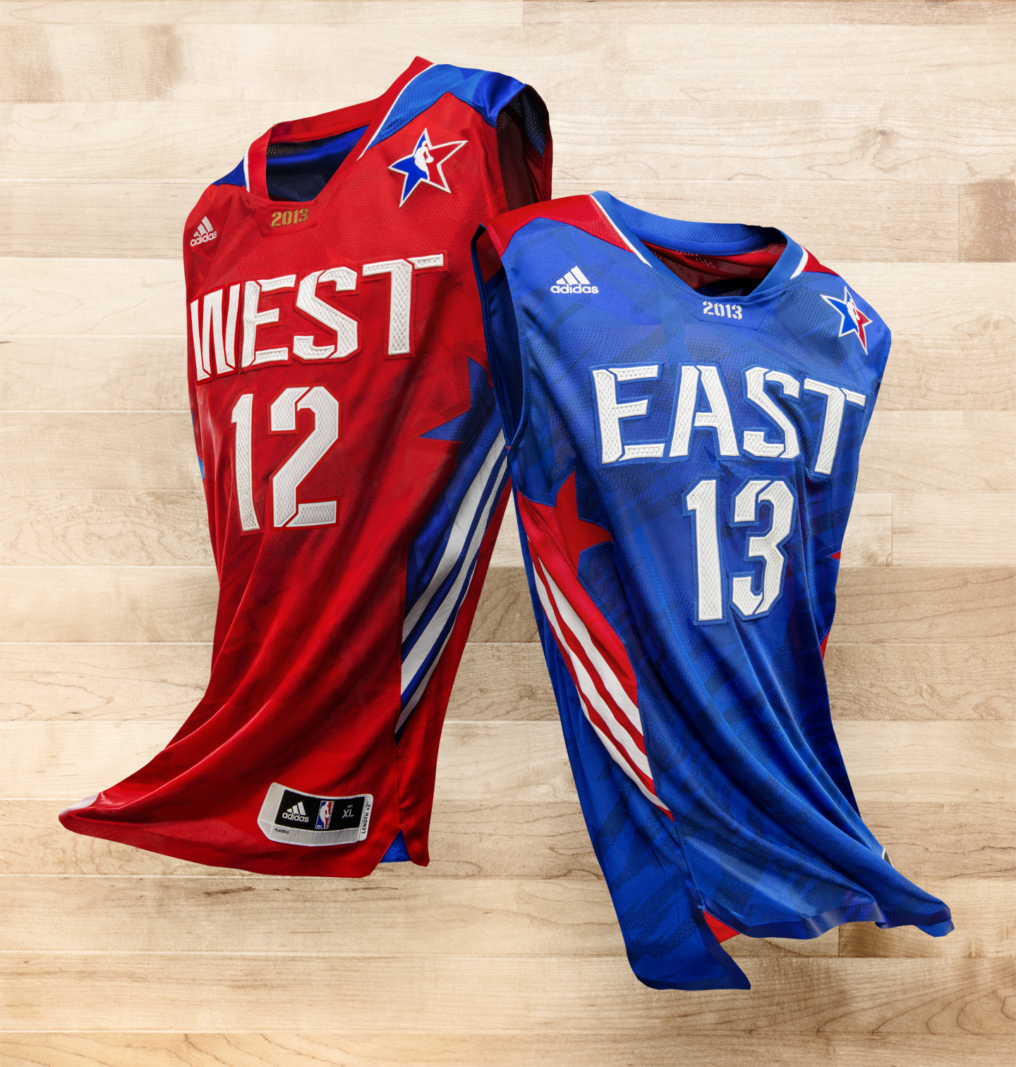 adidas designs Aeronautical History inspired 2013 NBA ALL-STAR uniforms