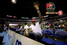 PHOTOS: Andray Blatche hooks up with Gilas Pilipinas in Miami for training camp
