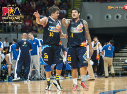 Did JR Quiñahan's antics cost Rain or Shine game five?