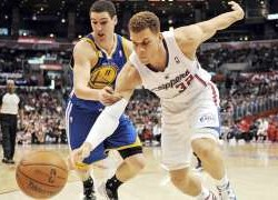 Klay Thompson calls out Blake Griffin for his flopping antics