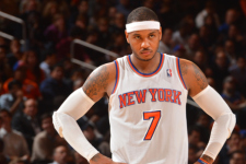 VIDEO: Carmelo Anthony explodes for 31 in rout of Lakers