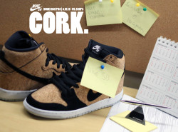 RELEASE REMINDER: weLegendary releases Nike Dunk High 'Cork' and more