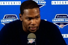 Out for good – bone graft ends Kevin Durant's season