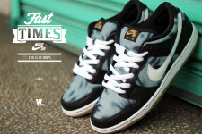 we Legendary set to release the Nike Dunk low SB 'Fast Times'