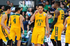 FEU takes solo lead off Mike Tolomia's brilliance
