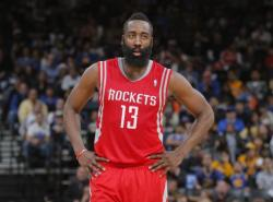 VIDEO: Harden's playoff career-high 42 points has Rockets a win away from round two