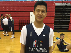 Jollo Go talks about his Basketball Without Borders experience