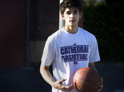 Kobe Paras and the Cathedral HS Phantoms book another Finals stint