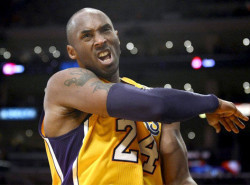 VIDEO: Kobe Bryant trails early, then destroys fan in game of HORSE
