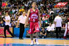 "VIDEO: LA Tenorio lands a ""low blow"" on a Greece player"