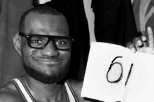 Video: All of LeBron James' Career High 61 points