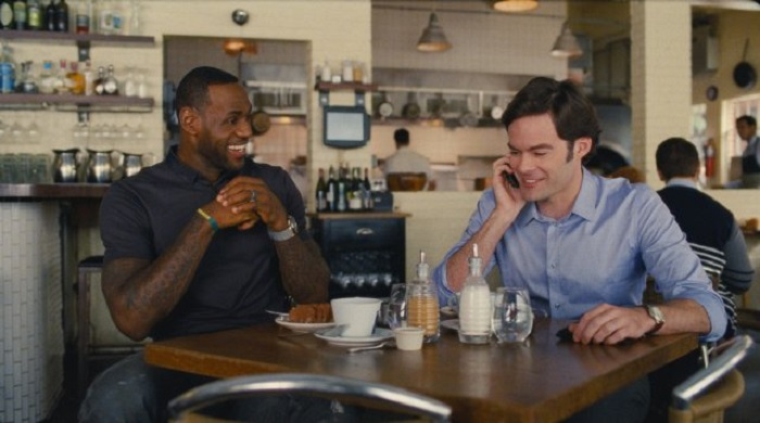 """LOOK: LeBron James talks Cleveland in this clip from Judd Apatow movie """"Trainwreck"""""""
