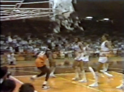 Vintage Video: Michael Jordan shatters backboard in Italy
