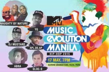MTV's Music Evolution Manila concert is happening tonight