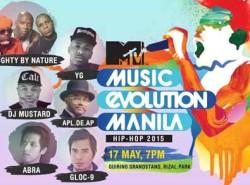 MTV's Music Evolution Manila concert is happening tonight