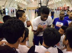 Nerlens Noel talks 76ers, the team's future, and his own camp experiences during Jr. NBA roundtable