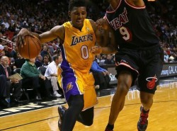 Nick Young wants to finish NBA career as a Laker