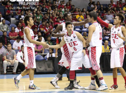 UE Red Warriors clip Adamson Falcons' wings to go 2-0 in the standings