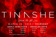 Raven presents Tinashe: LIVE in Manila
