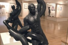 PHOTOS: Kobe Bryant statue has black mamba biting his Achilles