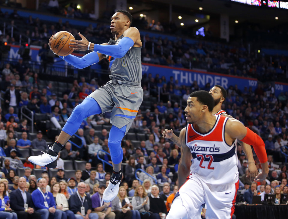 NBA DAILY DRIBBLE: Westbrook dropped 46 after thinking he ...